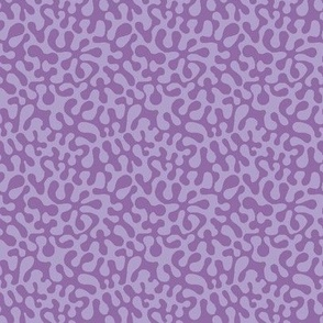 Pantone purple orchid and purple roseabstract retro groovy pink abstract // Matisse inspired // Groovy purple  by Magenta Rose Designs