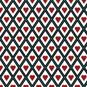 hearts and diamonds by rysunki_malunki
