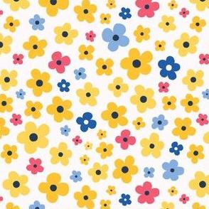 wildflower meadow yellow