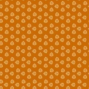 Tiny Geo Triangles on Mustard