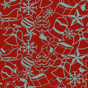 Christmas Memories-Red