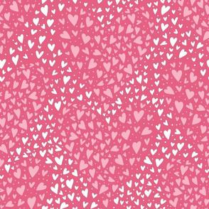 Heart, Heart, hearts in pink