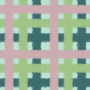 Garden Glam - Pink Plaid