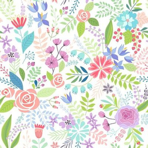 Spring Colorful Floral
