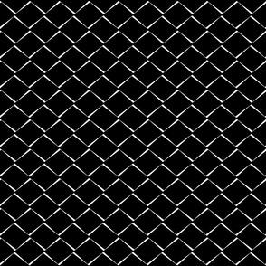 Ebony abstract diamond-black  (small scale)