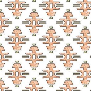 Diamond Bars in Orange - Small