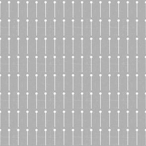 Pin Stripe grey white
