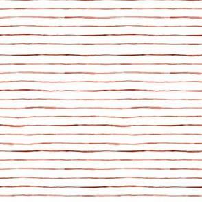Wobbly Stripe  -  earth