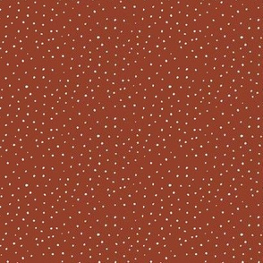 white dots coordinate - red earth