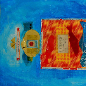 tea towel magic luck fortune teller abstract artistic