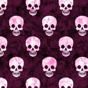 Happy Skulls Pink