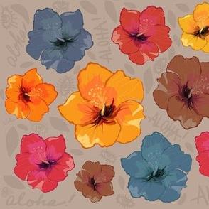 Aloha hibiscus eyes