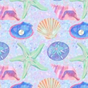 Pastel Sea Shells