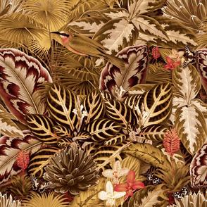 Jardin Eden (Crimson / Gold)