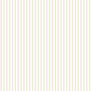 "8"" | 12"" Pink Green White Stripes 75 Opacity"