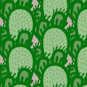Big Cactus - green XL