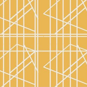 Geometric lines to shapes