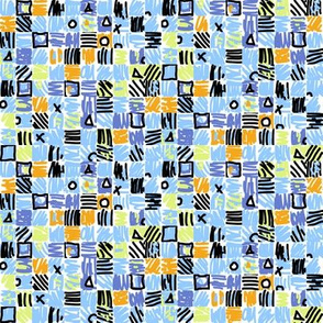 Small Scale Geometric Squares