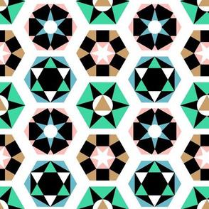 Mid-Century Hexagons