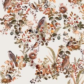 Birds in the Woods Vanilla // small