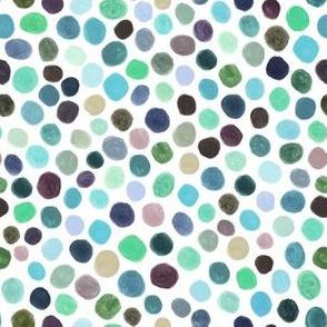 Polka Dots Color Blobs Gouache small scale