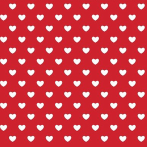 Hearts - Red - Small