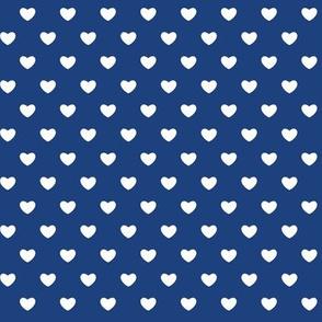 Hearts - Blue - Small