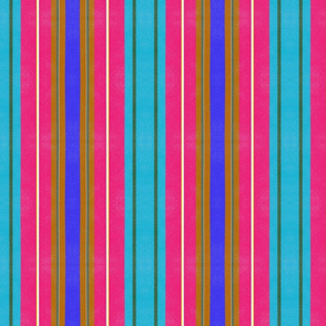 Rust and Navy Stripes