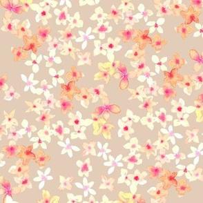 Floretes beige