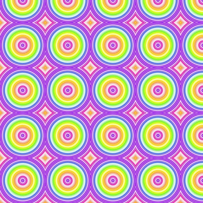 Rainbow Circles- small