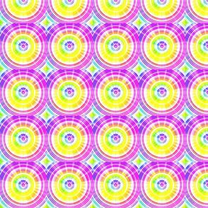 Rainbow Circle Flare- small