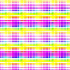 Rainbow Plaid 2- small