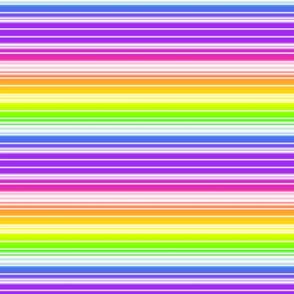 Rainbow Stripes - large