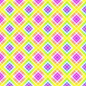 Rainbow Plaid 1- sm