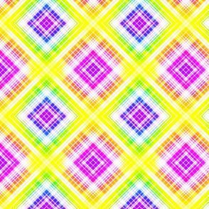 Rainbow Plaid 1 -lg