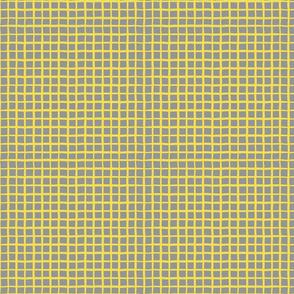 Yellow Windowpane Check