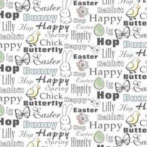 Happy Easter Typography