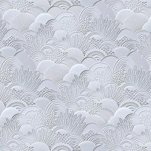 Paper Garden Faux Texture White Mini