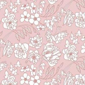 Farmhouse Floral, Pink