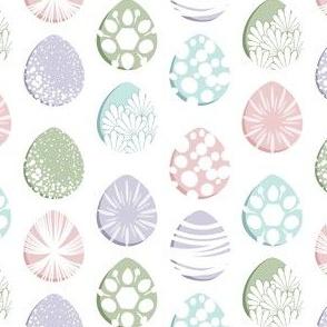 Easter Egg Decorating, Pastels