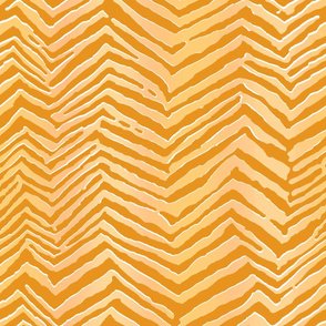 large tiger all ochre on sand