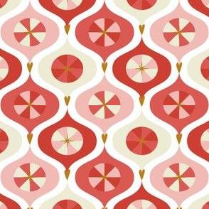 Vintage Ornaments Pink by DEINKI