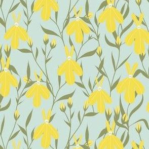 Lobelia blue/Yellow by DEINKI