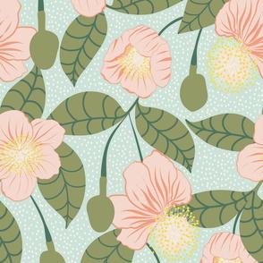 Baobab Flower pastell  by DEINKI