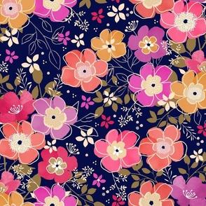 Abigail Florals Bright