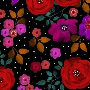 Midnight bloom - Floral
