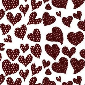 Dottie Hearts // Aggie Red
