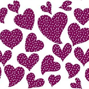 Dottie Hearts // Mulberry
