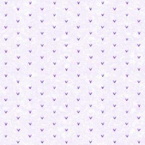 Watercolor Hearts Simple Lavender 2