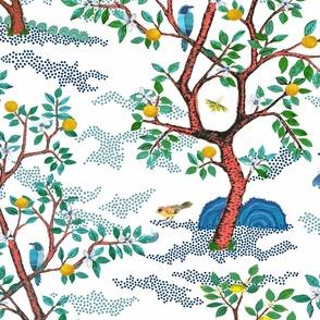 citrus grove toile custom recolor copy